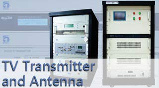 TV Transmitter and Antenna