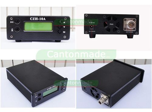 15W CZH-15A FM stereo PLL broadcast transmitter FM exciter